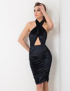 Sukienka Flawdress bez rękawów z okrągłym dekoltem