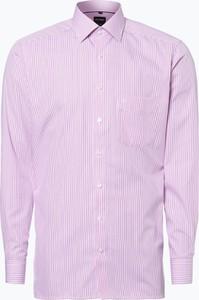 Różowa koszula olymp modern fit