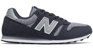 Buty sportowe New Balance z zamszu w sportowym stylu