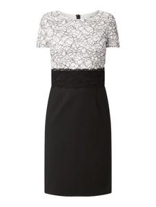 Sukienka S.Oliver Black Label z okrągłym dekoltem