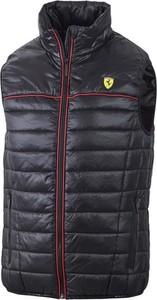 Niebieska kamizelka Scuderia Ferrari F1 w młodzieżowym stylu