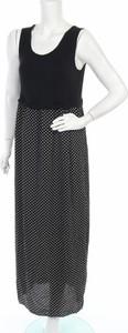 Czarna sukienka Chicoree z okrągłym dekoltem