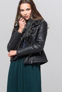 Czarna kurtka Monnari krótka w stylu casual