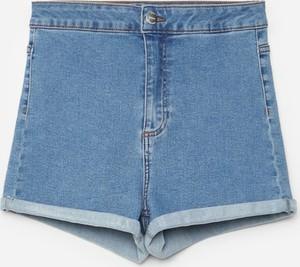 Niebieskie szorty Cropp z jeansu