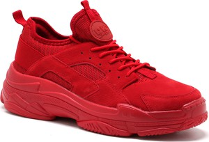 Buty sportowe DK sznurowane w młodzieżowym stylu
