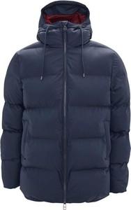Niebieska kurtka Rains w stylu casual