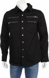 Czarna kurtka Tripp w młodzieżowym stylu