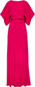 Sukienka Yuliya Babich z krótkim rękawem z dekoltem w kształcie litery v