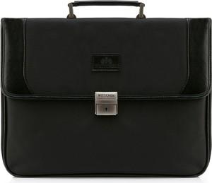 Czarna torebka Wittchen do ręki duża