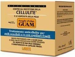 Guam - Lacote Fanghi d'alga Guam Pelli Delicate - Błotny koncentrat wyszczuplający dla skóry wrażliwej - op. 500g