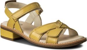 Buty dziecięce letnie clarks na rzepy