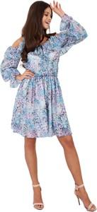 Sukienka Lemoniade z jedwabiu w stylu casual
