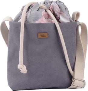 Fioletowa torebka Me&Bags średnia