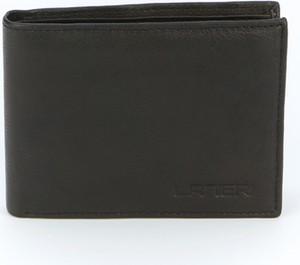 Portfel męski Lanieri na karty kredytowe ze skóry