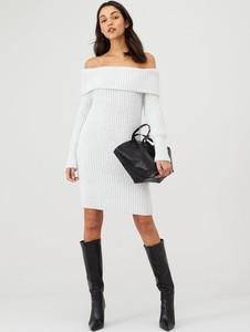 Sukienka V by Very z golfem dla puszystych w stylu casual