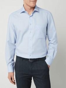 Niebieska koszula Eterna z bawełny