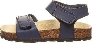 Granatowe buty dziecięce letnie Billowy