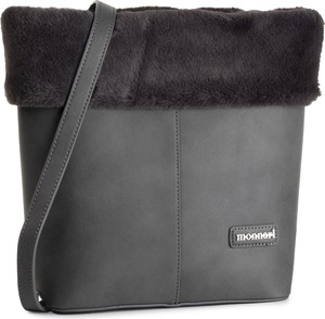 Czarna torebka Monnari na ramię średnia