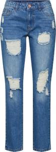 Niebieskie jeansy JACQUELINE DE YONG z jeansu