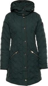 Zielony płaszcz Desigual