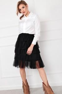 Spódnica Ptakmoda.com w młodzieżowym stylu midi