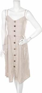Sukienka Jean-Louis Scherrer z dekoltem w kształcie litery v