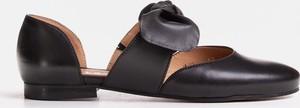 Baleriny Marco Shoes z płaską podeszwą w stylu casual