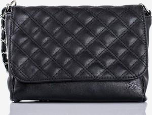 Czarna torebka Royalfashion.pl mała pikowana