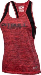 Top Pit Bull West Coast z tkaniny w sportowym stylu