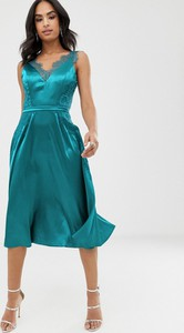 Zielona sukienka Little Mistress