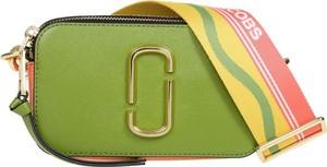 Zielona torebka Marc Jacobs ze skóry mała