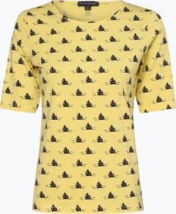 Żółty t-shirt Franco Callegari