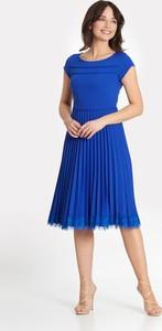Sukienka Marcelini z krótkim rękawem
