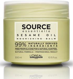 L'Oreal Paris Loreal Source Essentielle Nourishing Balm | Odżywcza maska do włosów suchych i uwrażliwionych 300ml - Wysyłka w 24H!