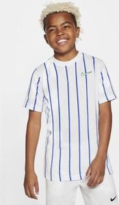 Koszulka dziecięca Nike z krótkim rękawem w paseczki