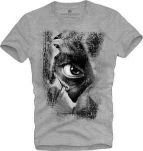 T-shirt Underworld z bawełny z nadrukiem