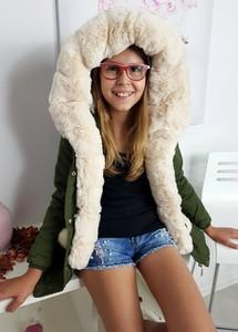 Płaszcz dziecięcy Ligari Kids z bawełny