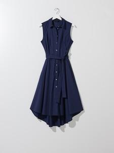 Sukienka Mohito bez rękawów z bawełny szmizjerka