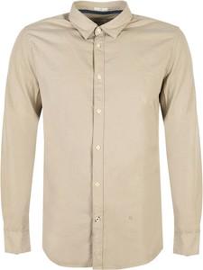 Koszula ubierzsie.com z klasycznym kołnierzykiem z długim rękawem w stylu casual