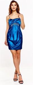 Sukienka Fokus z satyny mini