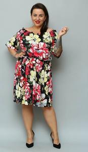 Sukienka KARKO w stylu casual hiszpanka