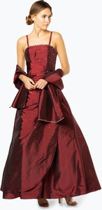 Czerwona sukienka Luxuar Fashion