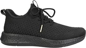Czarne buty sportowe Sprandi z płaską podeszwą
