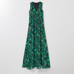 Sukienka Mohito maxi w stylu casual z dekoltem w kształcie litery v