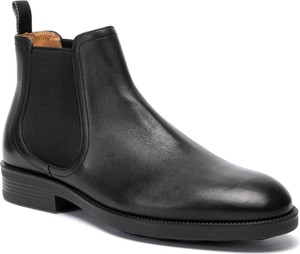 Czarne buty zimowe Fabi