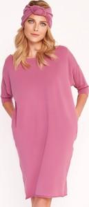 Różowa sukienka Byinsomnia