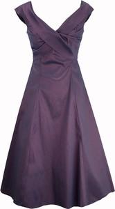 Sukienka Semper z dekoltem w kształcie litery v z bawełny