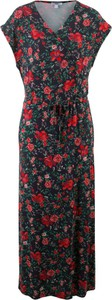Czarna sukienka bonprix bpc bonprix collection bez rękawów maxi