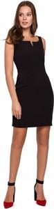 Sukienka Makover mini dopasowana bez rękawów