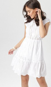 Sukienka born2be bez rękawów mini